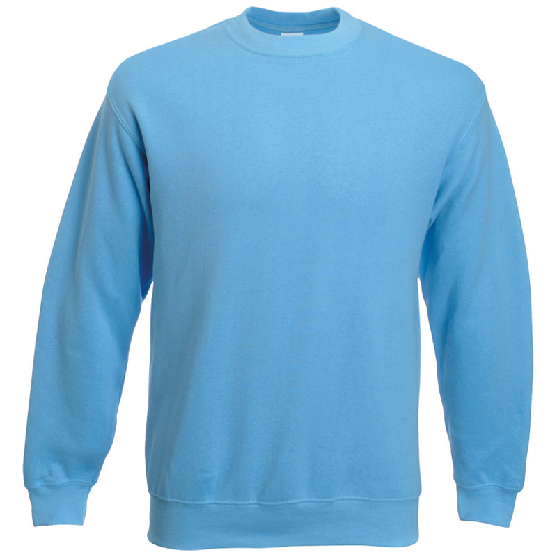 Fruit of the Loom Classic Set-In Sweat pastellblau